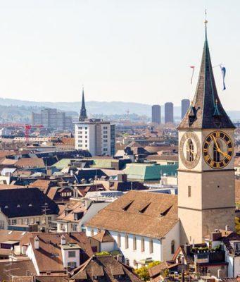Zurih Gezi Rehberi St Peter Kilisesi ve Saat Kulesi
