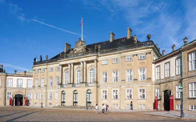 Amalienborg Sarayı, Kopenhag