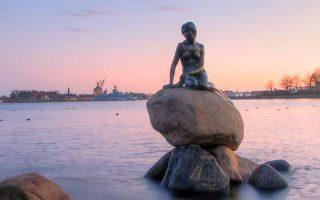 Küçük Deniz Kızı, Kopenhag