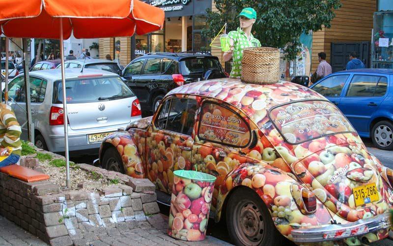 Sheinkin Caddesi, Tel Aviv