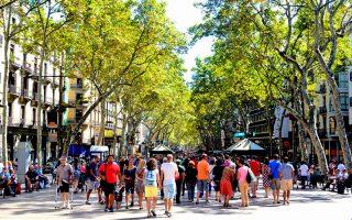 Barselona Gezilecek Yerler Las Ramblas