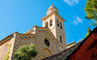 Portofino Gezi Rehberi Chiesa Divo Martino