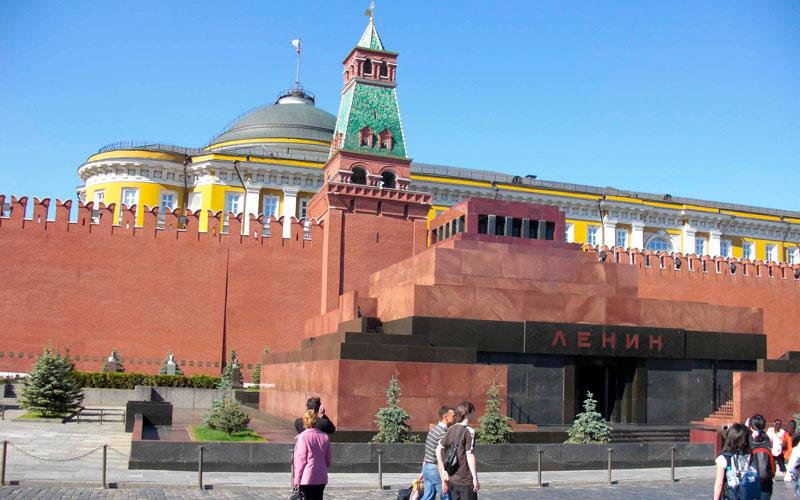 Lenin-Mozolesi-Moskova