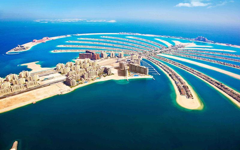 Palmiye-Adalari-Dubai
