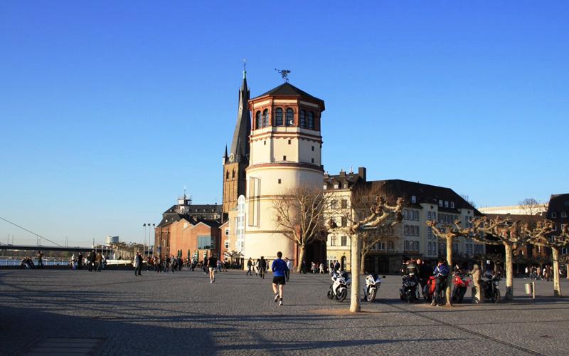 Burgplatz-Dusseldorf