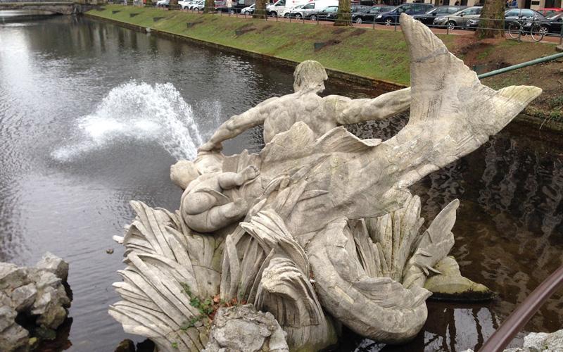 Tritononbrunnen-Almanya