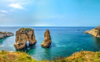 Güvercin Kayaları Lübnan Gezilecek Yerler