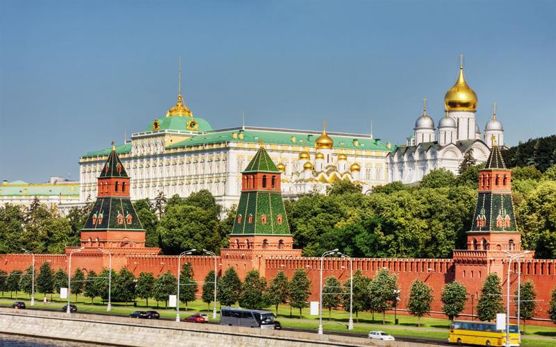 Kremlin-Sarayi-Moskova