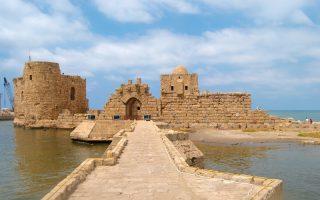 Sidon-Kalesi-Beyrut