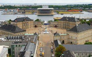 Amalienborg Sarayı Kopenhag