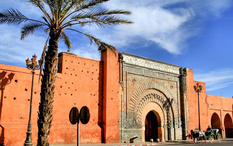 Bab Agnaou Geçidi Medina Marakeş
