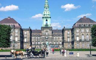 Christiansborg Sarayı Kopenhag