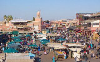 Djemaa El Fna Meydanı Marakeş