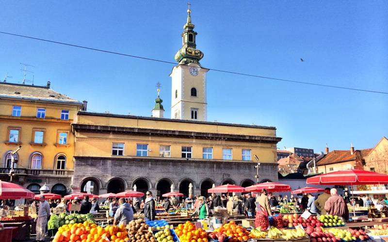 Dolac Pazarı Zagreb Gezi Rehberi