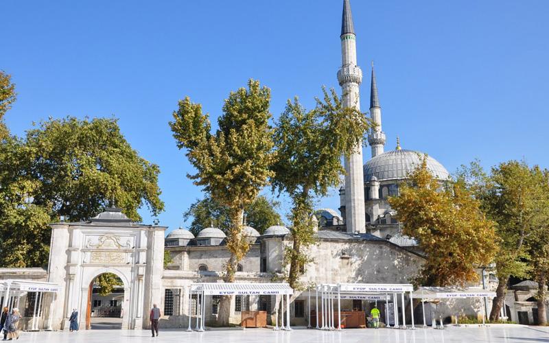 Eyüp Sultan Camii Haliç İstanbul