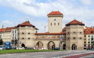 Isartor Kapısı Münih