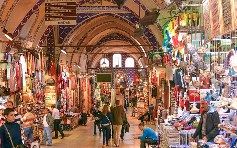 Kapalı Çarşı İstanbul Tarihi Yerler
