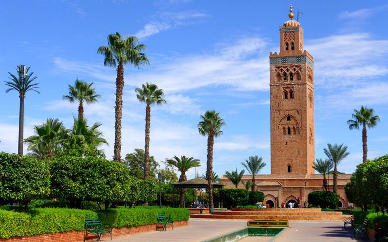Kutubiye Camii Medina Marakeş