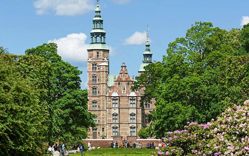Rosenborg Kalesi Kopenhag Tarihi Yerler