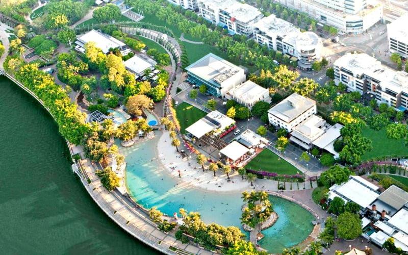 South Bank Brisbane Avustralya