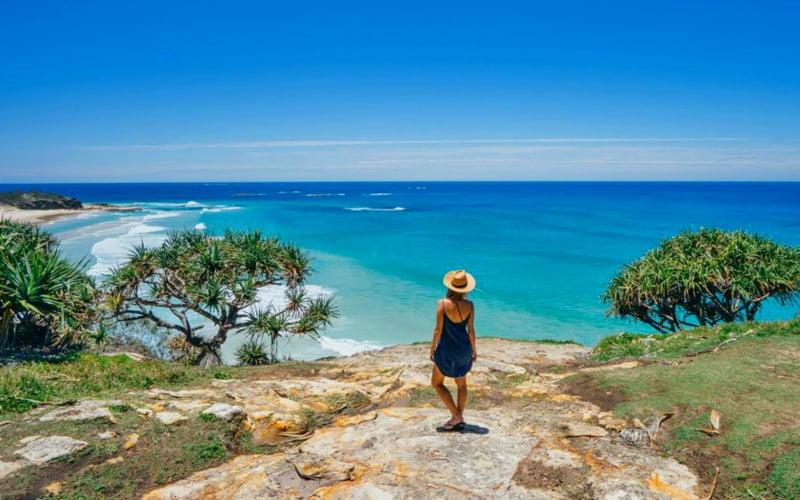 Stradbroke Adası Brisbane Avustralya