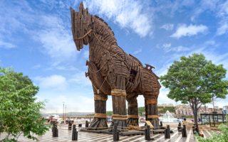 Truva Atı Heykeli Çanakkale Gezi Rehberi
