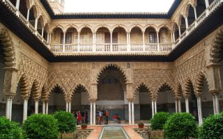 Alcázar Sarayı Cordoba