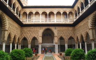 Alcázar Sarayı Sevilla