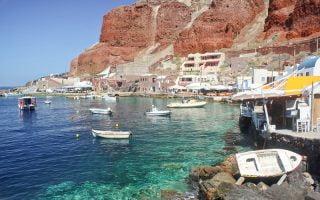 Amoudi Koyu Santorini