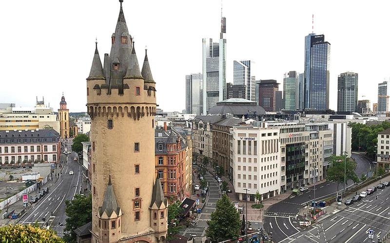 Eschenheimer Kulesi Frankfurt