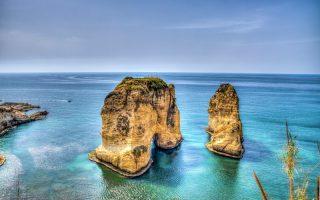 Güvercin Kayaları Beyrut