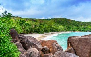 Praslin Adası Seyşeller