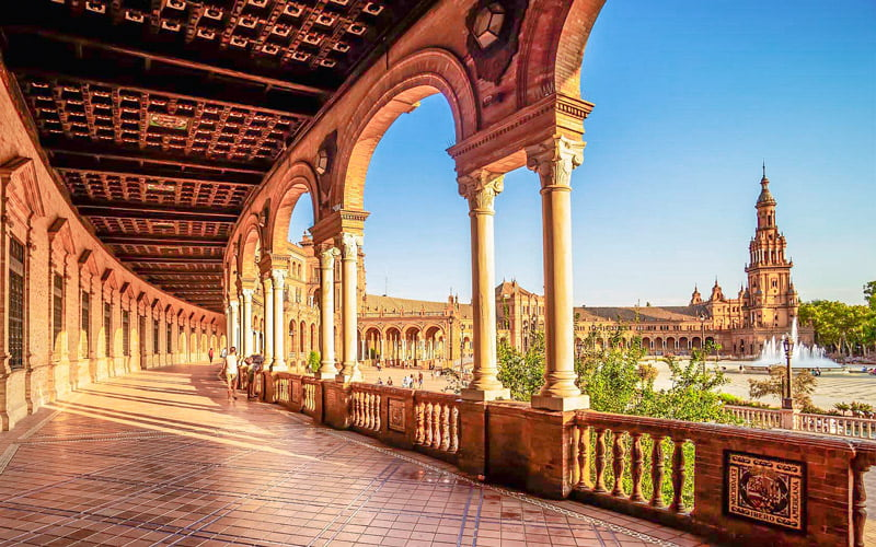 Santa Cruz Meydanı Sevilla