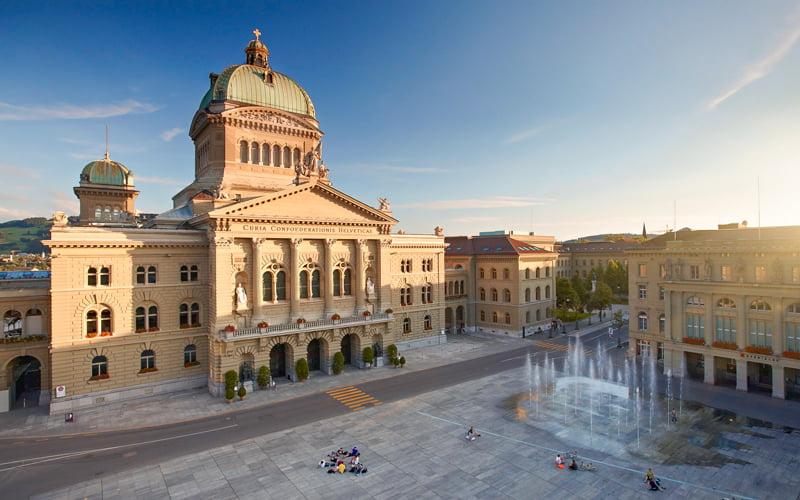 Bundeshaus Federal Saray Bern Gezilecek Yerler