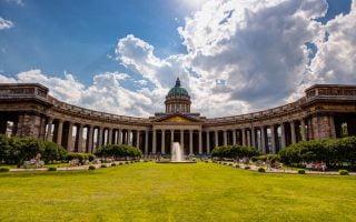 Kazan Katedrali Stpetersburg