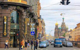 Nevski Caddesi Petersburg