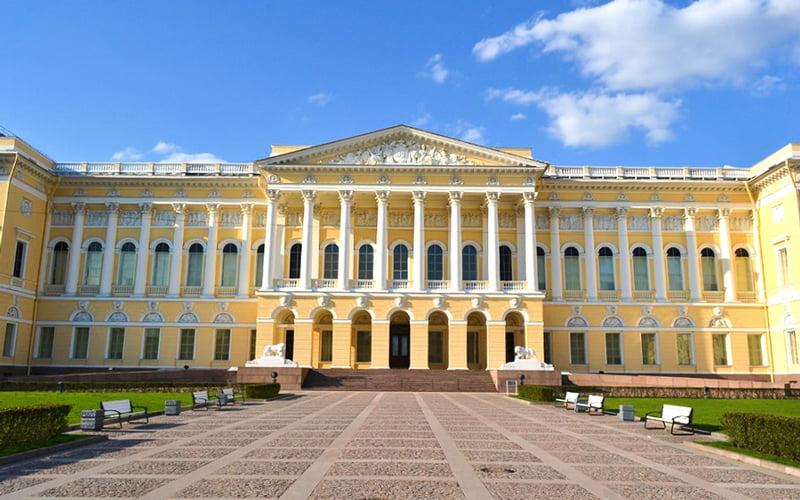 Rus Devlet Müzesi Stpetersburg