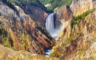 Yellowstone Büyük Kanyonu