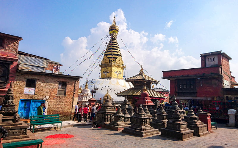 Swayambhunath Tapınağı