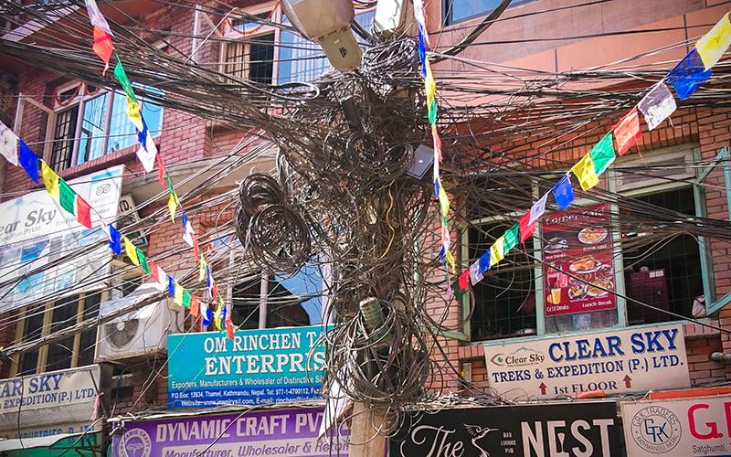Nepal elektrik telleri