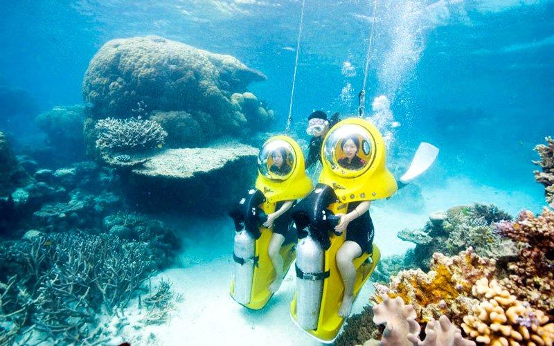 scuba doo büyük set resifi