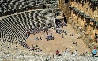 Aspendos-Antik-Tiyatrosu