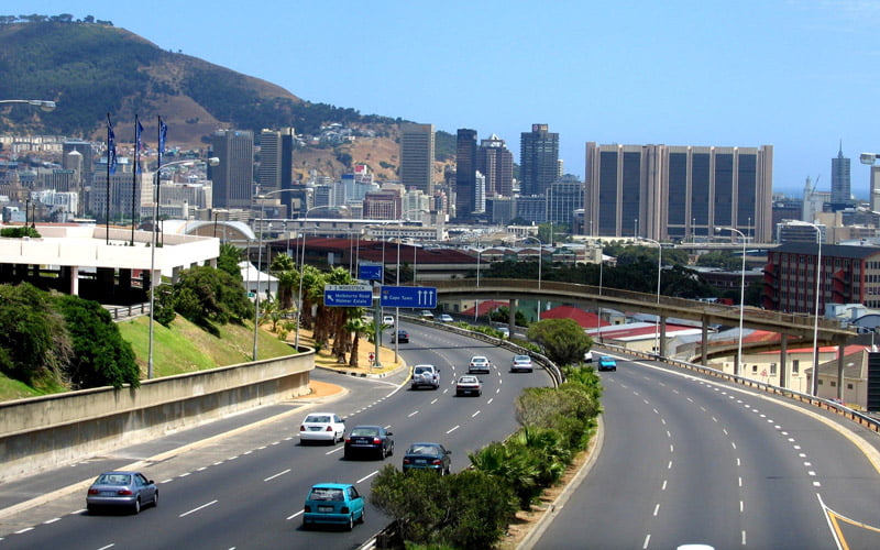 Capetown-Ulasim