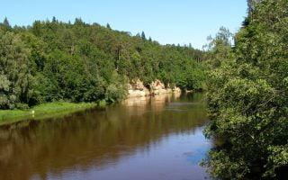 Gauja-Milli-Parki-Letonya